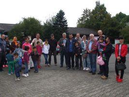 Begrüßung durch den Verbandsbürgermeister Uwe Weber, den Vorsitzenden des Hunsrückvereines Klaus Görg und den Vorsitzenden des Vereines Kind für Kinder Manfred Storr.