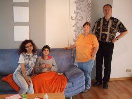 Steffi Bremm bei Familie Hoffmann
