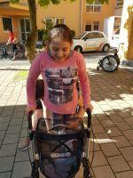 Clara bei einem vorherigen Aufenthalt in der Geerlofs-Klinik